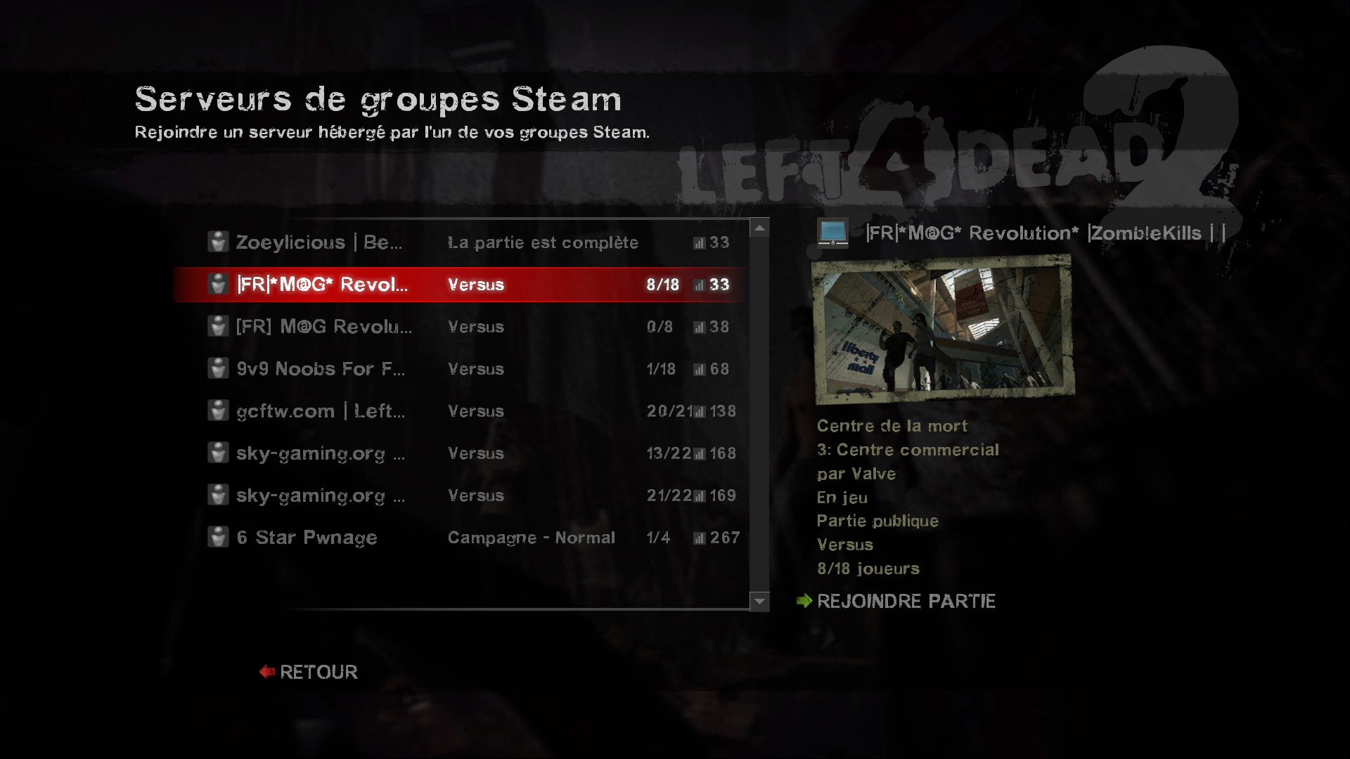L4D(2)] Remove Lobby Reservation (When Full) [Archive] - AlliedModders